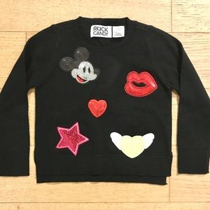 Girls Sequins Sweater - NWOT